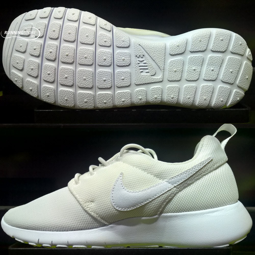 Nike Roshe One -Women - White/ White/ Wolf Grey 599729-102