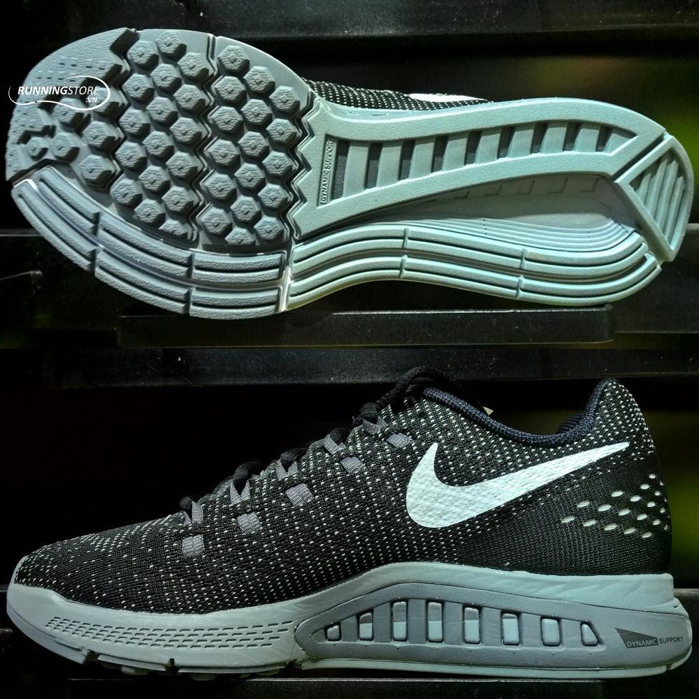 Nike Air Zoom Structure 19- Black/ Dark Grey/ Cool Grey/ White 806580-001