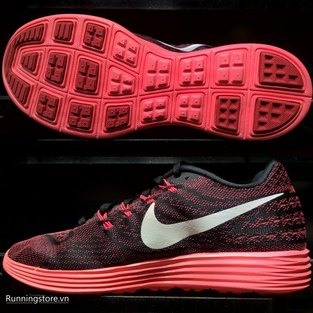 Nike Lunartempo 2- Running Red/ Black/ Bright Crimson 818097 601