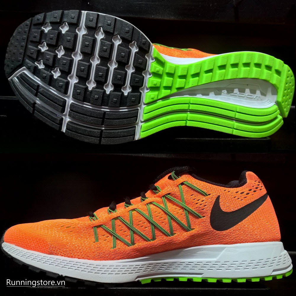 Nike Air Zoom Pegasus 32- Orange/ Black/ Green/ White 749340-803