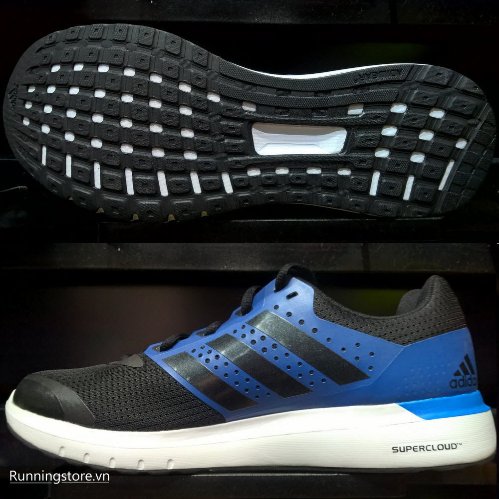 Adidas Duramo 7- Core Black/ Erthquake Blue/ Black AF6661