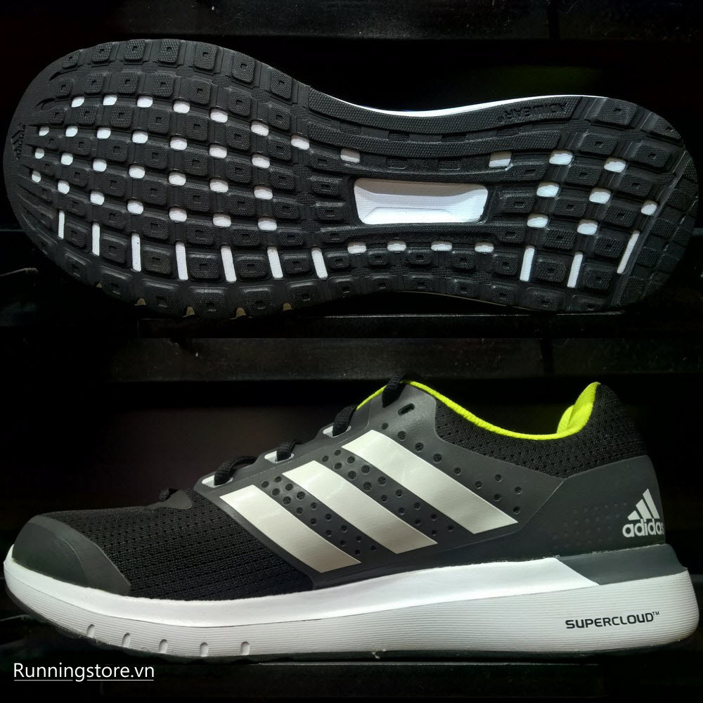 Adidas Duramo 7- Core Black/ Ftwr White/ Dark Grey AF6668