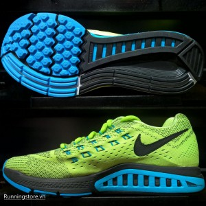 Nike Air Zoom Structure 18 - Ghost Green / Black / Blue Size 683731-301