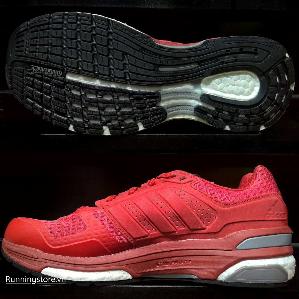 Adidas Supernova Sequence Boost 8- Vivid Red S13/ Power Red/ Core Black S78929