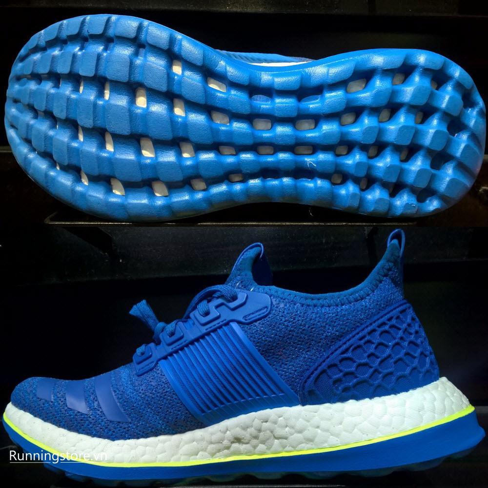 Adidas Pureboost ZG Prime- Eqt Blue S16/ Shock Blue S16/ Solar Yellow AQ2929