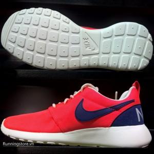 Nike Roshe One Retro_ Women- Bright Crimson/ Loyal Blue 820200-641