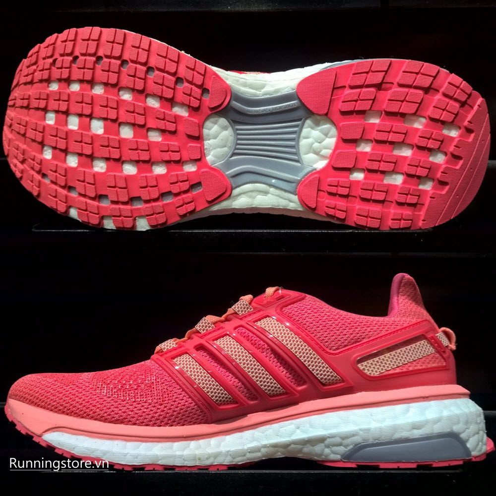 Adidas Energy Boost 3 Women- Sun Glow/ Halo Pink/ Shock Red AF4935