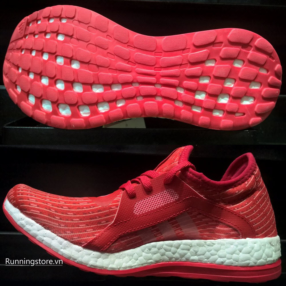 Adidas Pureboost X Women- Ray Red/ Vapour Pink/ Footwear White AQ3399