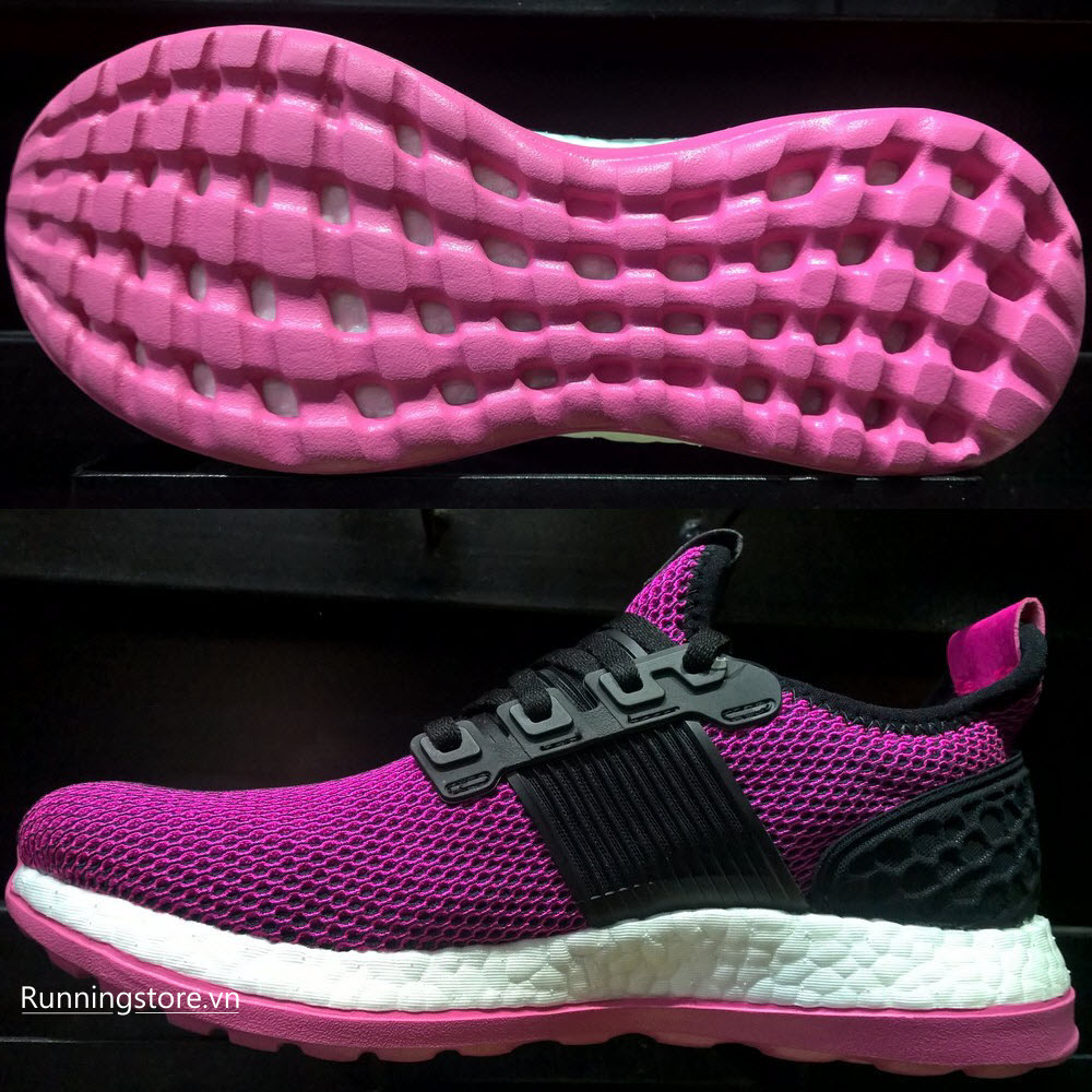 Adidas Pureboost ZG Women- Core Black/ Shock Pink BB3917