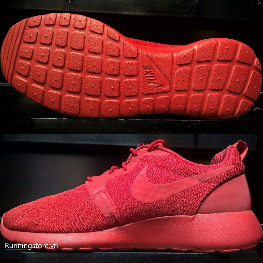 Nike Roshe One Hyperfuse- University Red/ Black 636220-660
