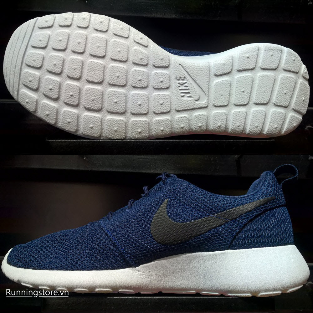 Nike Roshe One- Midnight Navy White 511881-405