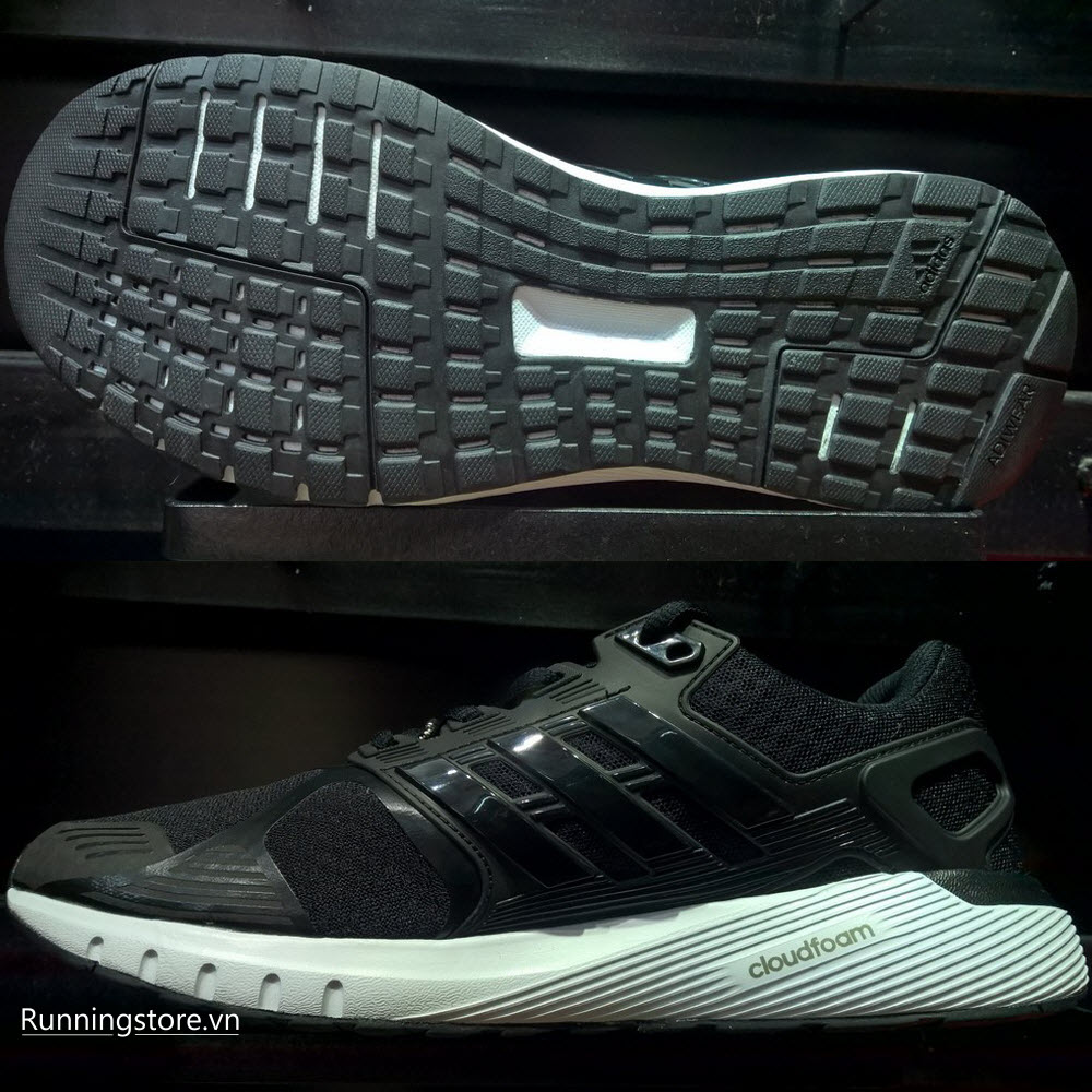 Adidas Duramo 8- Core Black/ Core Black/ Footwear White BB4655