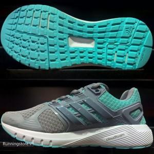 Adidas Duramo 8 Womens- Mid Grey/ White/ Easmin BB4675