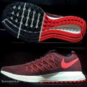 Nike Air Zoom Pegasus 32 Women- Black/ Bright Crimson/ Sail/ Hyper Orange 749344-009