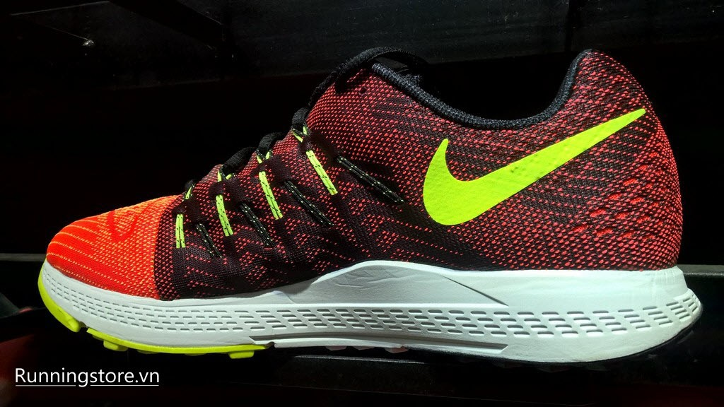 Nike Air Zoom Elite 8- Bright Crimson/ Ghost Green/ Volt/ Black 748588-603