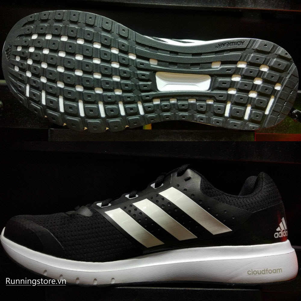 Adidas Duramo 7- Core Black/ White/ Core Black BB4049