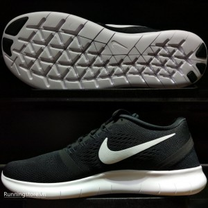 Nike Free RN- Black/ White 831508-001