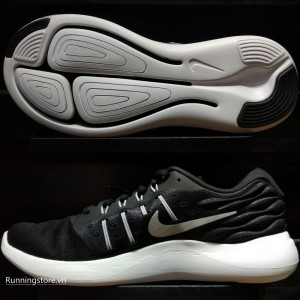 Nike Lunarstelos- Black/ Metallic Silver/ Anthracite/ White 844591-001