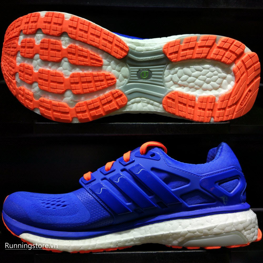 Adidas Energy Boost ESM- Blue/ Colar Orange B23152