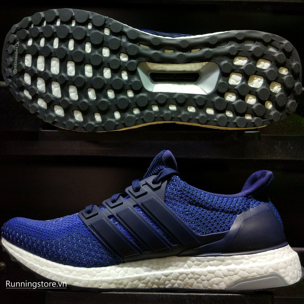 Adidas Ultra Boost- Navy/ Collegiate Navy/ Shock Pink AQ5928