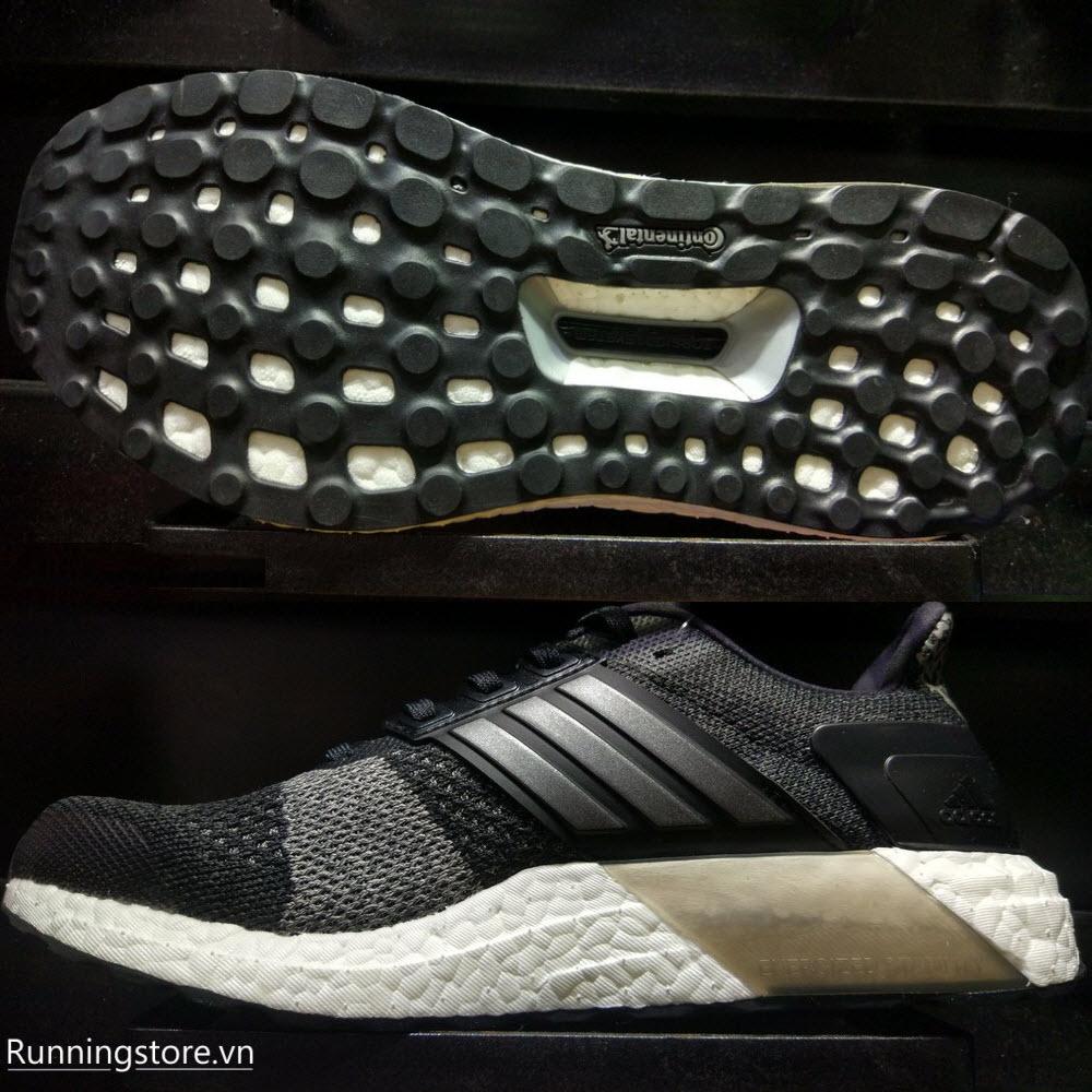 Adidas Ultraboost ST- Core Black/ Iron Metallic/ Solid Grey BA7838