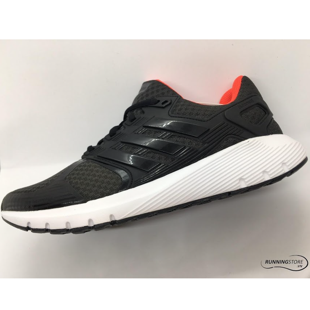 Adidas Duramo 8 - Carbon / Core Black / Hi Res Red - CP8738