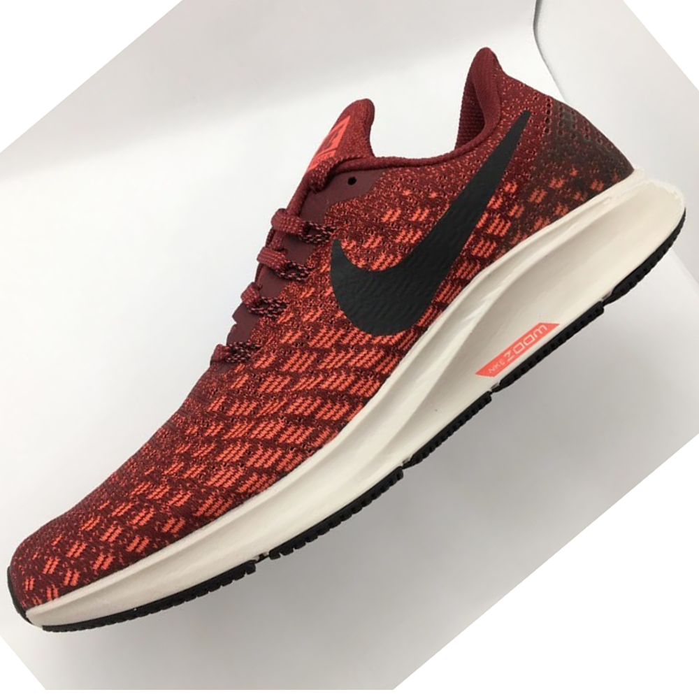 Nike Air Zoom Pegasus 35 - Team Red / Oil Grey / Bright Crimson - 942851-601