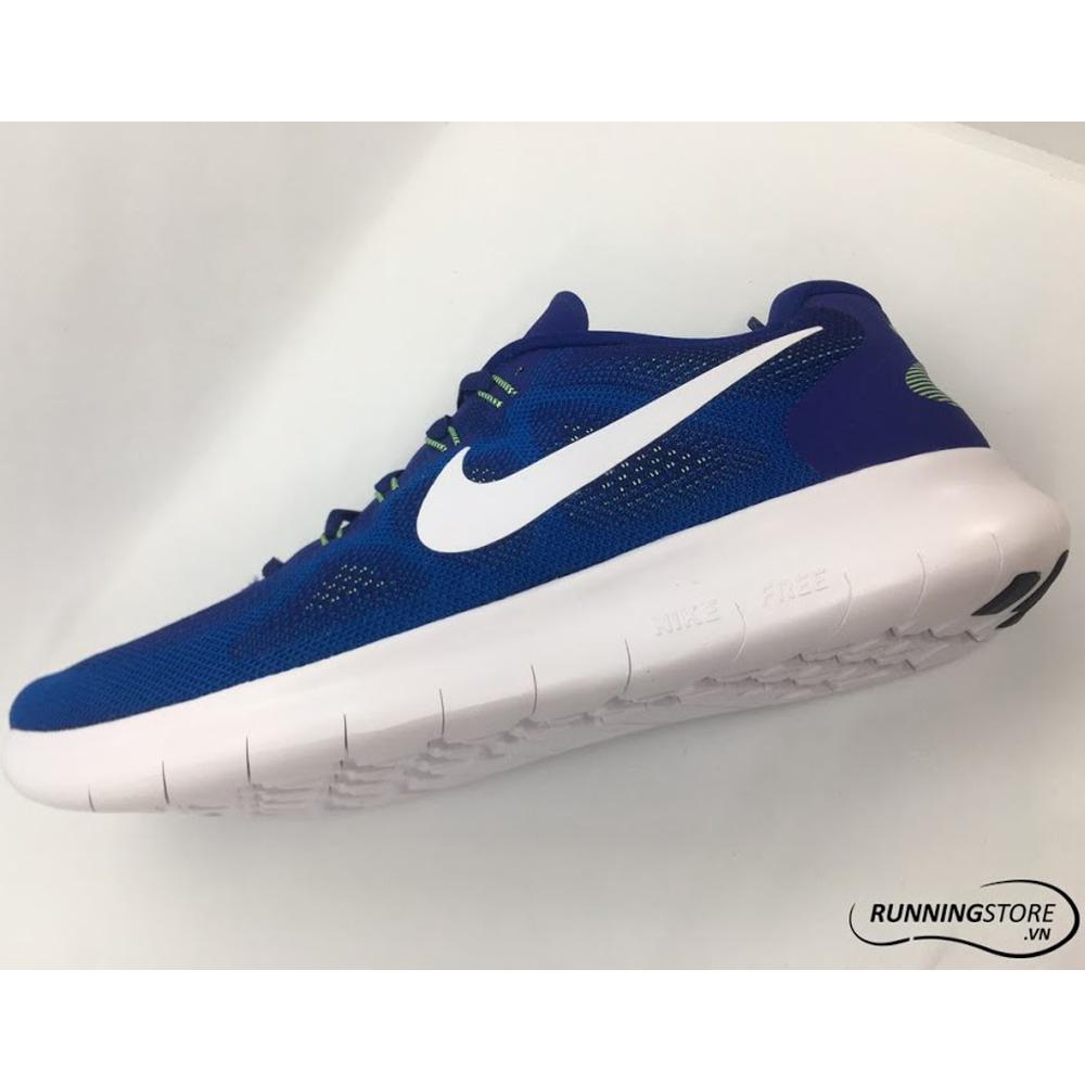 Nike Free RN 17 - Deep Royal Blue/White/Soar/ghost green 880839-401