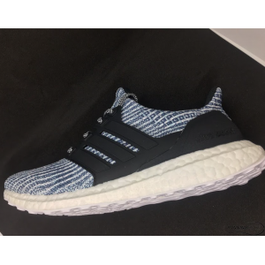 Adidas UltraBoost Parkley - Cloud White/ Carbon / Blue Spirit - BC0248