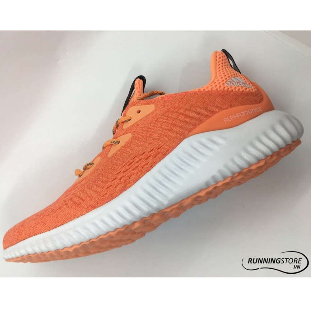 Adidas AlphaBounce EM Womens - Easy Coral/Utility Black/Easy Orange
