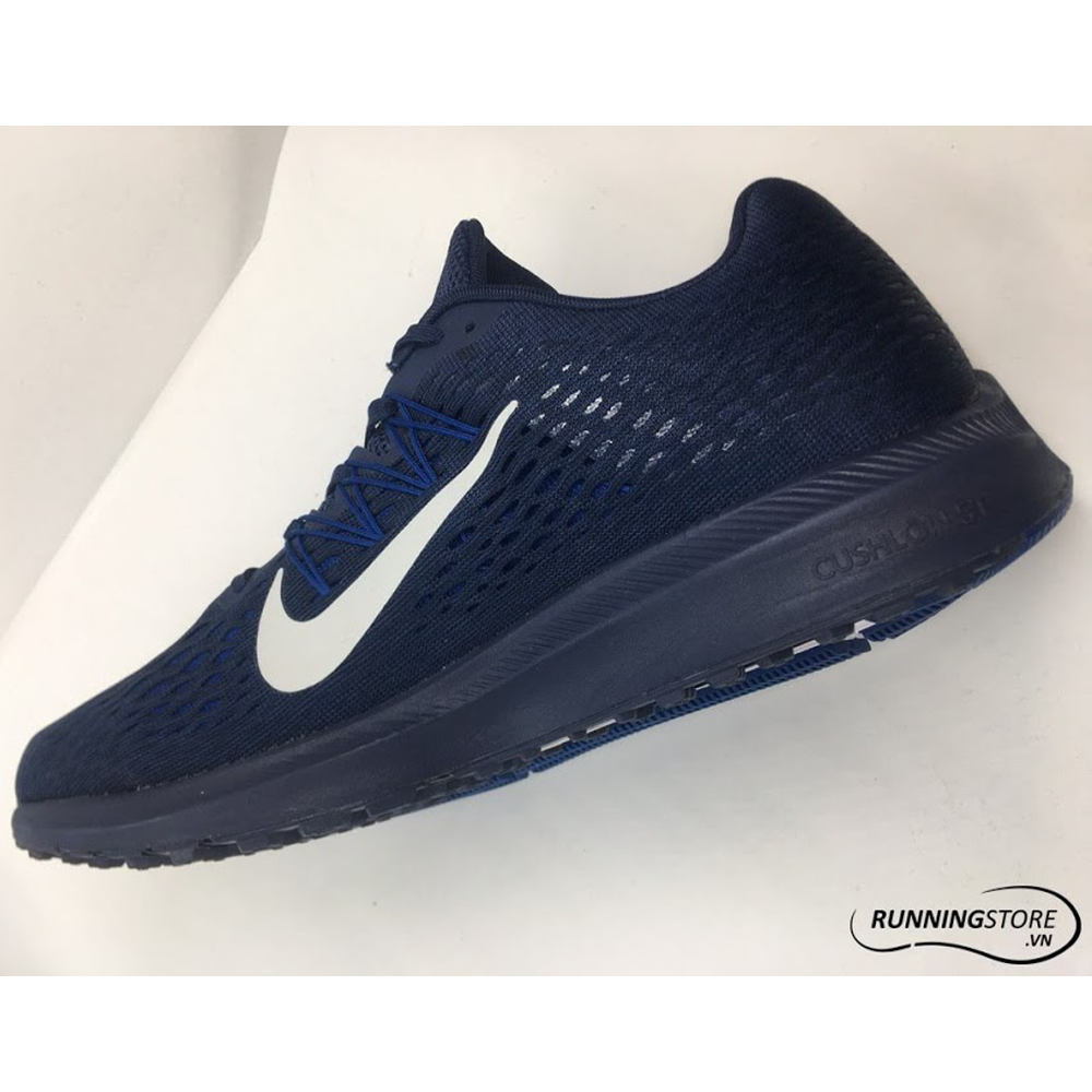 Nike Air Zoom Winflo 5 - Midnight Navy / Dark White