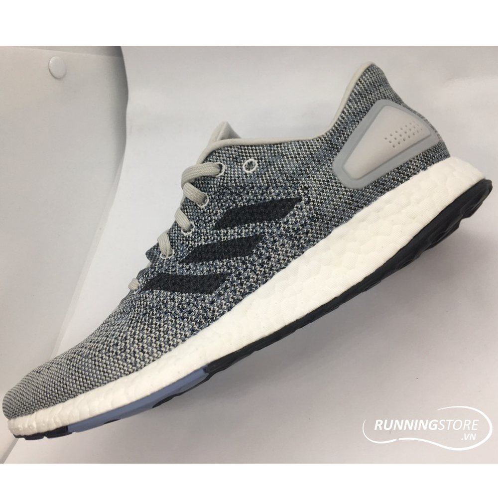 b151c733cca96 Adidas Pureboost DPR- Grey  Cloud White  Raw Grey CM8322 ...