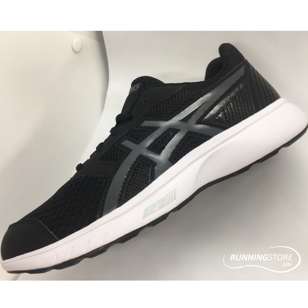 Asics Gel Stormer 2- Black/ White