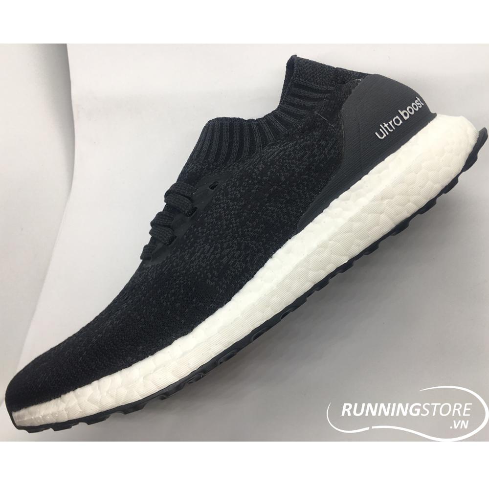 8d6221254fb57 Adidas Ultra Boost Uncaged – Carbon Core Black  Grey Three – DA9164