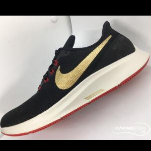 Nike Air Zoom Pegasus 35- Black/ Gold/ Red 942851-018