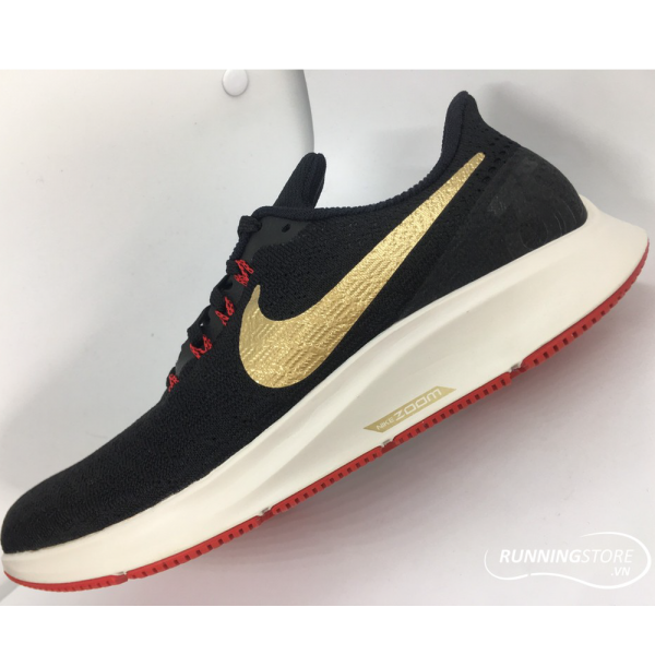 Nike Air Zoom Pegasus 35- Black/ Gold/ Red 942851-018