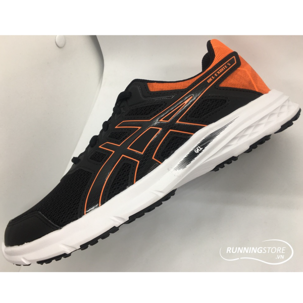 Asics Gel-Excite 5- Black/ Shocking Orange T7F3N-001