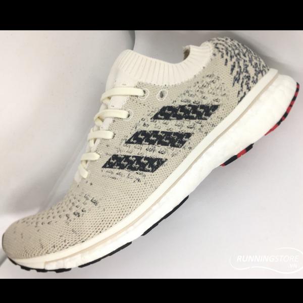 Adidas Adizero Prime LTD - Running White / Carbon / Clear Brown BB6574