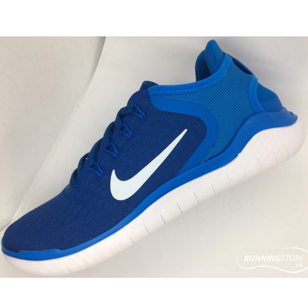 Nike Free RN- Team Royal White/ Photo Blue 942836-400