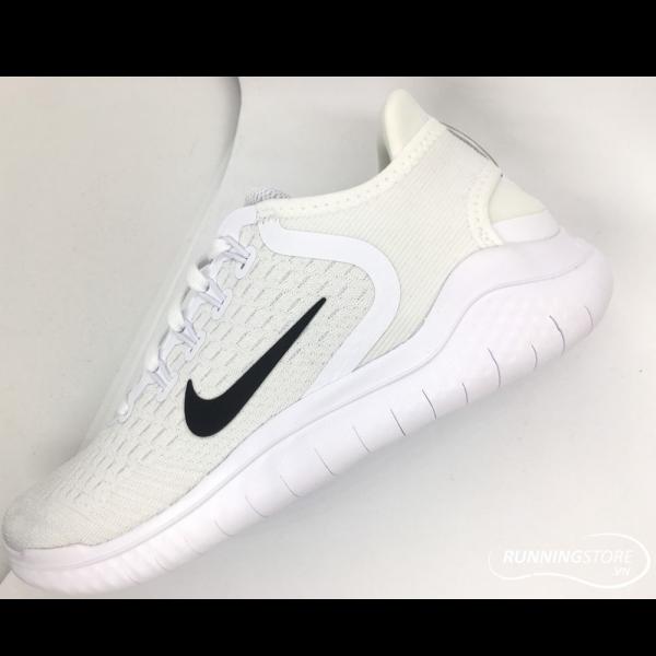 Nike Free RN- White/ Black 942836-100