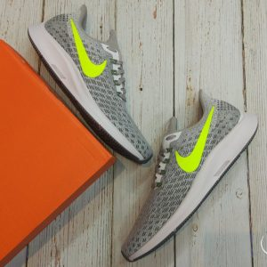 Nike Airzoom Pegasus 35 - White/ Volt/ Gunsmoke- 942851-101