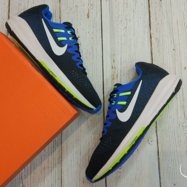 Nike Air Zoom Structure 20 - Black/White/Photo Blue- 849576-004