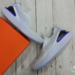 Nike Epic Phantom React Flyknit- White/ Hydrogen Blue BV0417-101