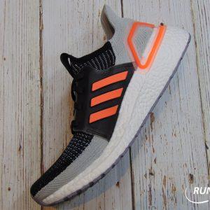 Adidas Ultraboost 2019 - Core Black / Solar Orange / Glow Blue - G27516