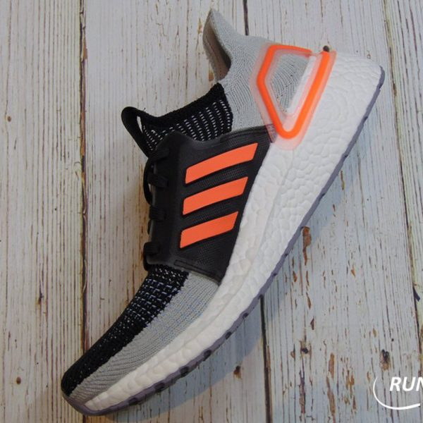 Adidas Ultraboost 2019 - Core Black / Solar Orange / Glow Blue - G27516