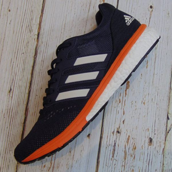Adidas Adizero Boston 7 - Legend Ink / Raw White / True Orange -B37383