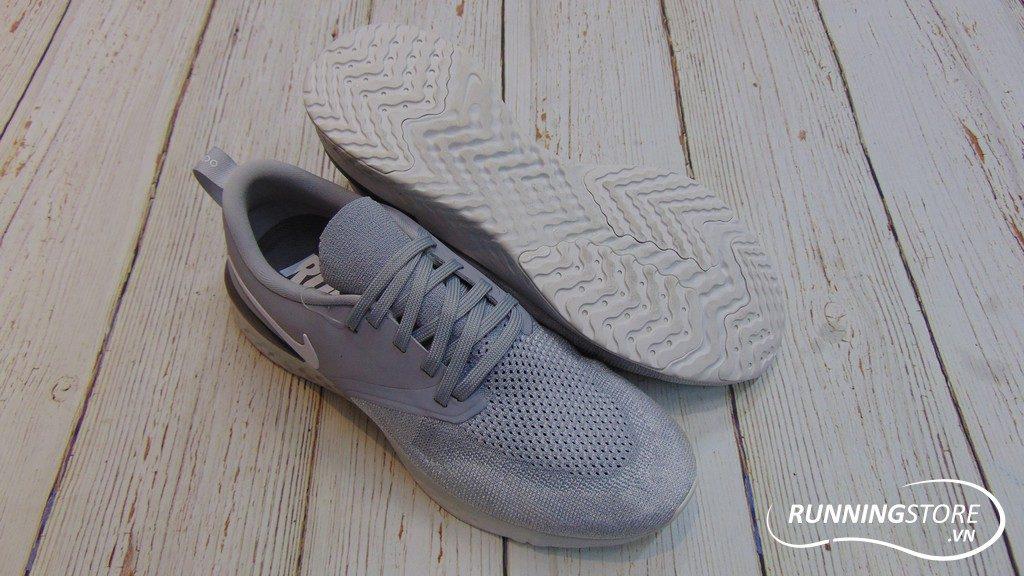 Nike Odyssey React Flyknit 2 - Wolf Grey/ White Platinum Tint- AH1015-001