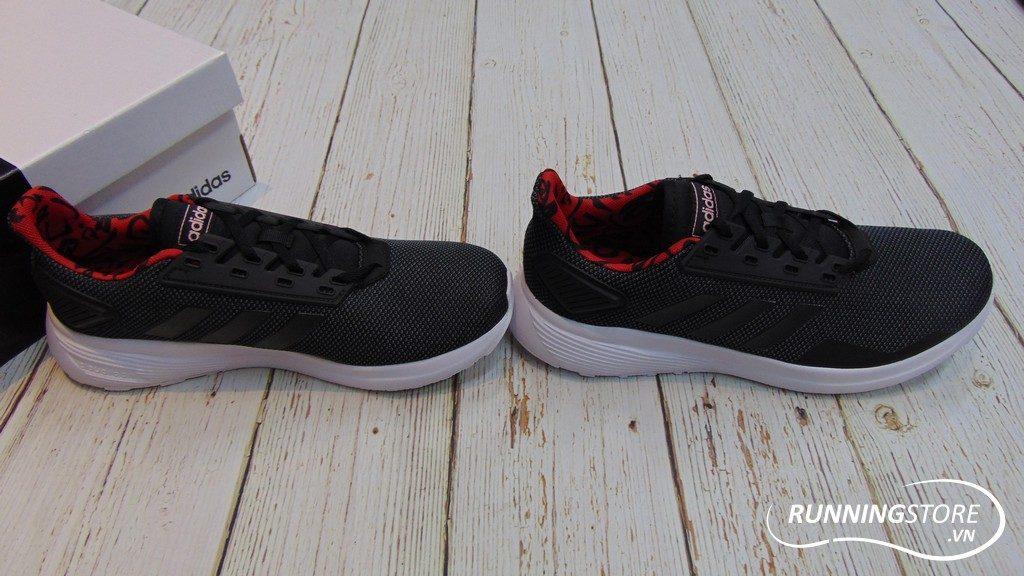 Adidas Duramo 9 - Core Black/ Grey Six/ Grey Red- F37006