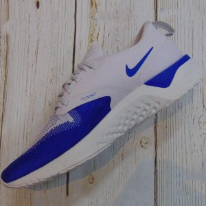 GIày chạy bộ Nike Odyssey React Flyknit 2 - Vast Grey/ Game Royal/ Jeu Royal- AH1015-004