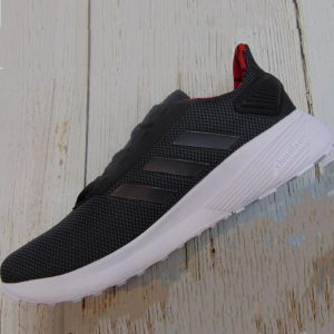 Adidas Duramo 9 - Core Black/ Grey Six/ Grey Red- F37006